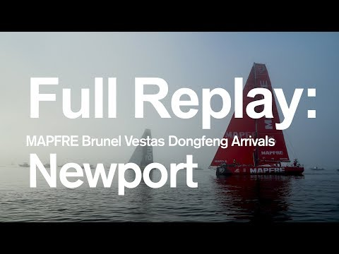 Full Replay: MAPFRE Brunel Vestas Dongfeng Arrivals in Newport | Volvo Ocean Race