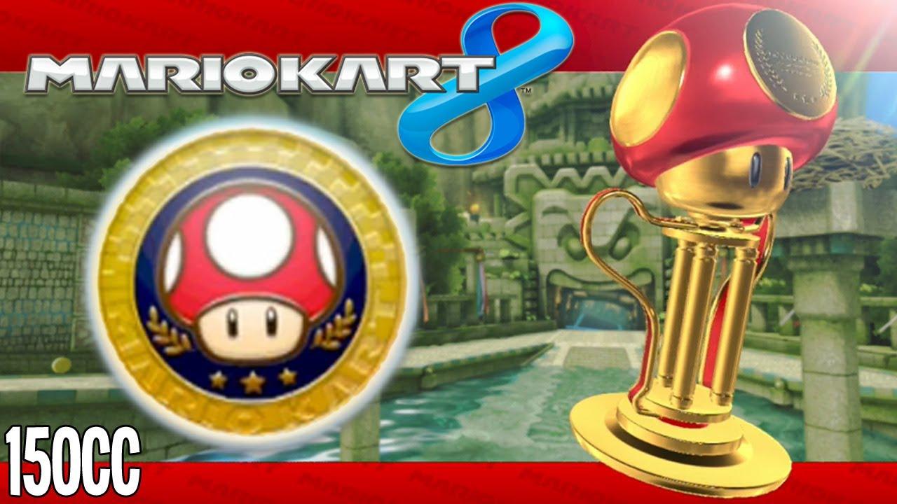 Mario Kart 8 Mushroom Cup 150cc Youtube