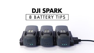 8 Battery Tips for DJI Spark