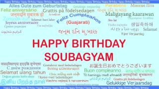 Soubagyam   Languages Idiomas - Happy Birthday