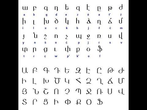 Эфиопский алфавит. Урарту