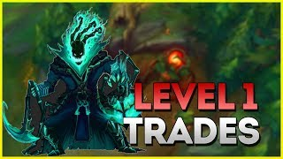 Level 1 Trading as Support! Thresh Coaching (League of Legends Patch 9.13)