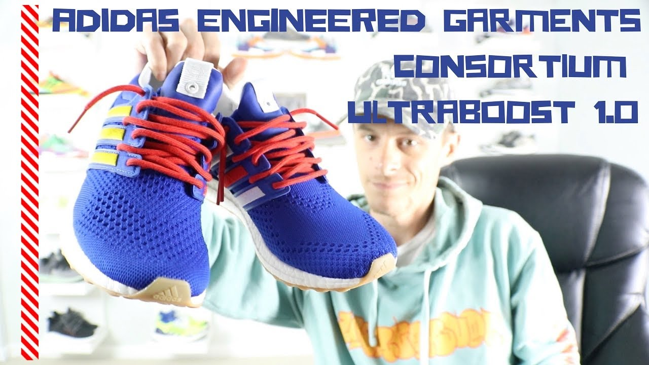 timeless design d37a2 112f1 ADIDAS x ENGINEERED GARMENTS CONSORTIUM ULTRABOOST 1.0 (Unboxing and on  foot Review)