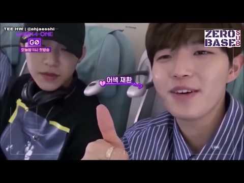 [ENGSUB] Funny Kim Jaehwan First Plane Ride (Wanna One Go S2: Zero Base)