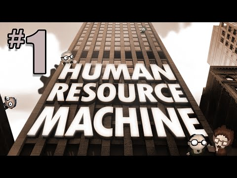 Human Resource Machine Gameplay  - #1 - Programming in the Mail Room?!