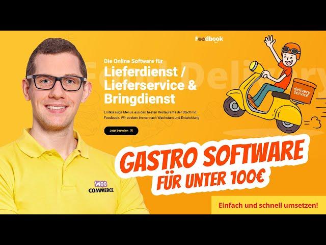 Essen online bestellen 🍕  Restaurant Pizza Lieferdienst / Lieferservice & Bringdienst Software