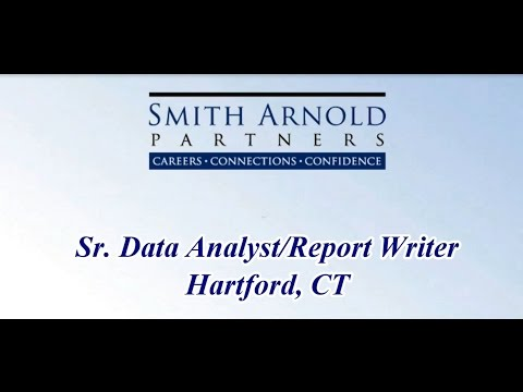 Sr. Data Analyst/Report Writer (CLOSED) | Smith Arnold Partners