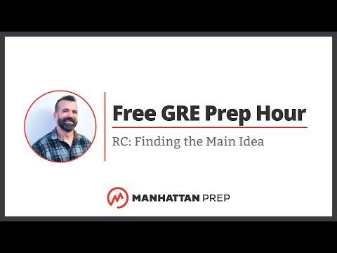Free GRE Prep Hour: 3/29/2018 | Manhattan Prep