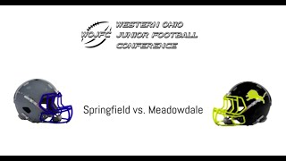 WOJFC 4th grade Championship game: Springfield v. Meadowdale