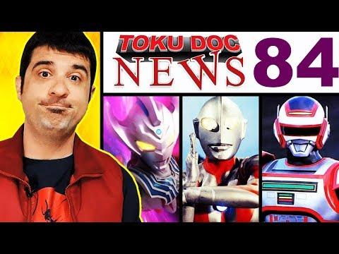 séries legalizadas no Brasil / Ultraman no mundo todo / Evento em SP - TokuDoc neWs 84