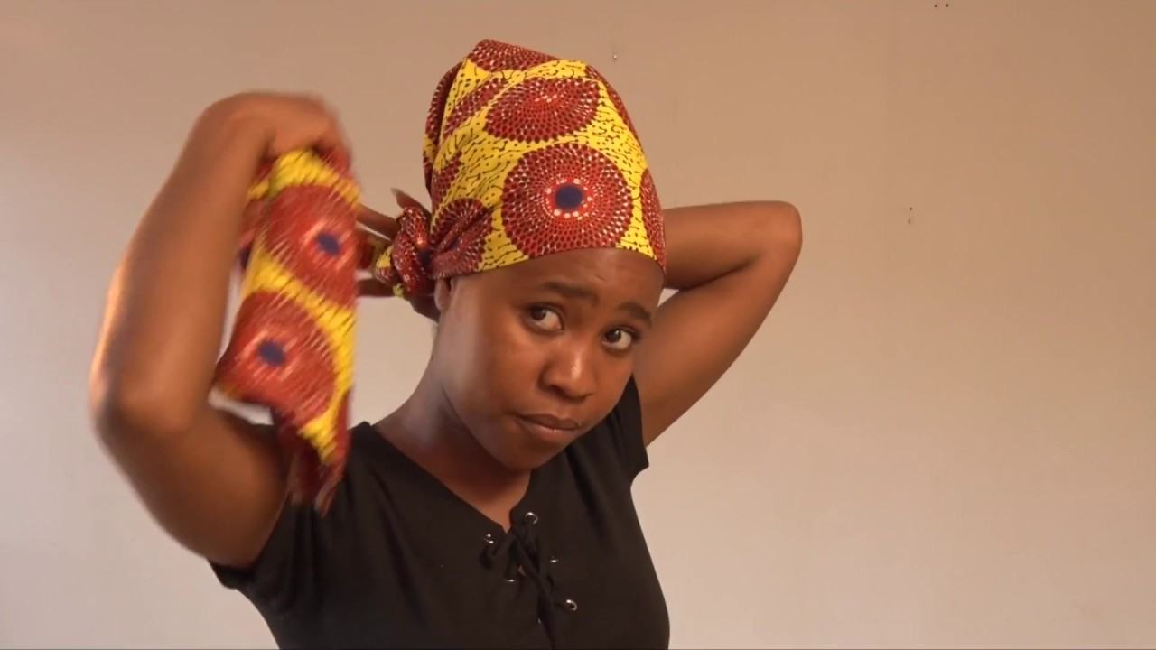 How To Wear A Traditional Doek Youtube