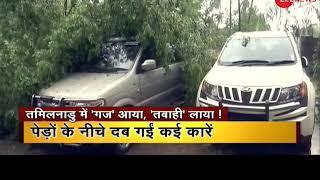 11 dead as Cyclone Gaja makes landfall in Tamil Nadu