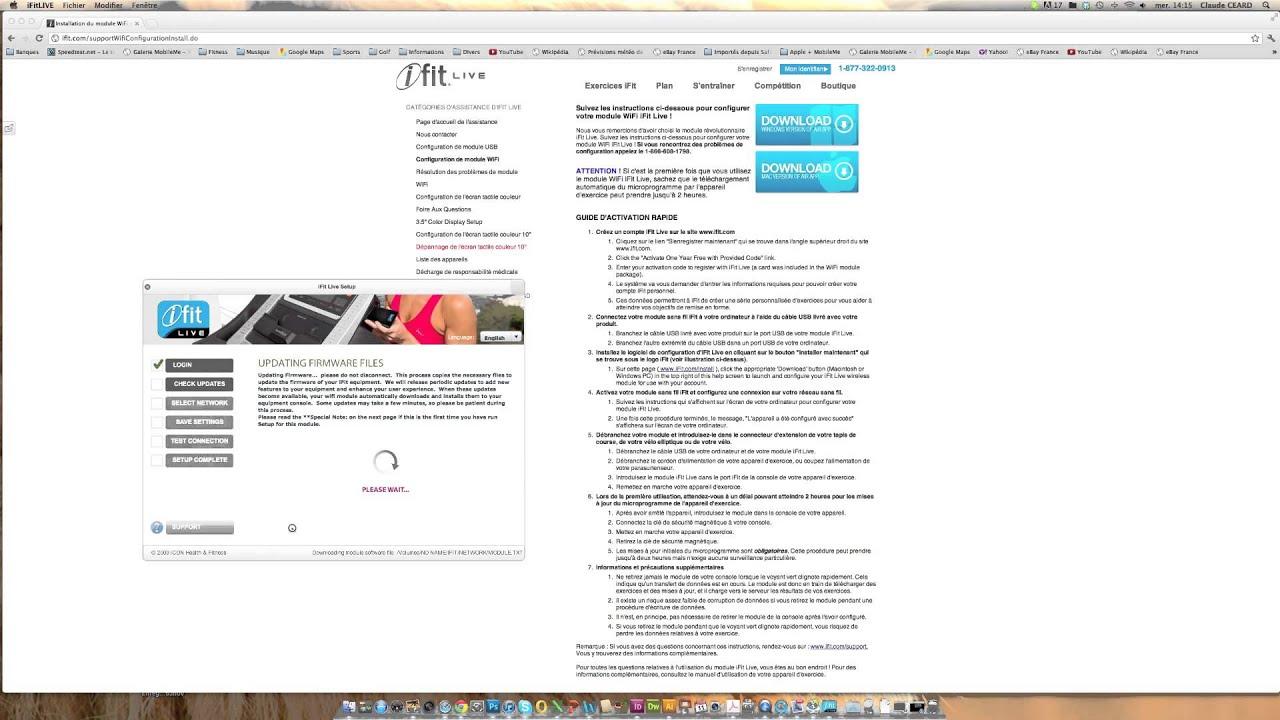 iFit configuration module