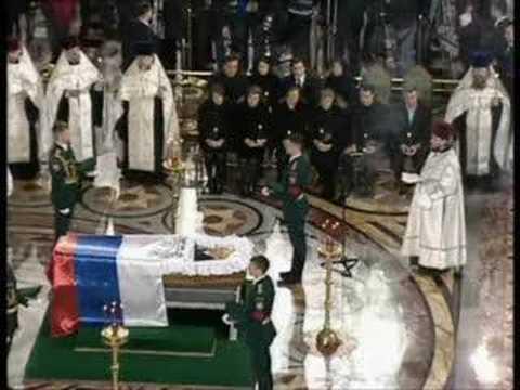 Boris Nikolayevich Yeltsin funeral