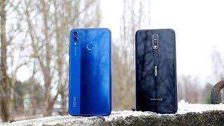 Honor 8x vs Nokia 7.1, полное сравнение.