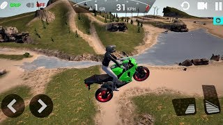 Ultimate Motorcycle Simulator #10 NEW BIKE UNLOCKED - Android gameplay