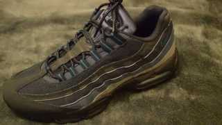 Escandaloso Entrada salud  Nike Air Max 95 Dark Obsidian/Green Abyss - Unboxing - YouTube