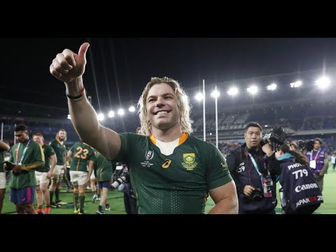 Faf De Klerk on World Cup win, iconic speedo picture & meeting Prince Harry!