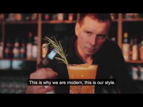 Hennessy menu in KOYA in Riga, Latvia