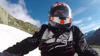 Le tour du Mont-Blanc en side-car - DJ Construction