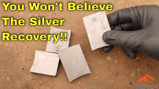 Smelting Pure Silver From Industrial Scrap