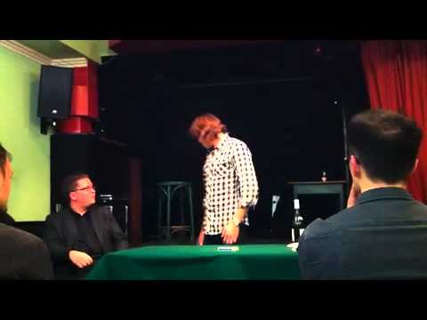 Why you should NOT film David Stone in Lecture !