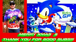 Merry XMAS and THANKS for 6K SUBS! This is Sonic Winter Adventures for SEGA Genesis - Retro GP