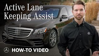 How To: Use Mercedes-Benz Active Steering Assist and Active Lane Change Assist Systems