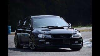 Subaru Impreza 22B sound, drift & launch compilation