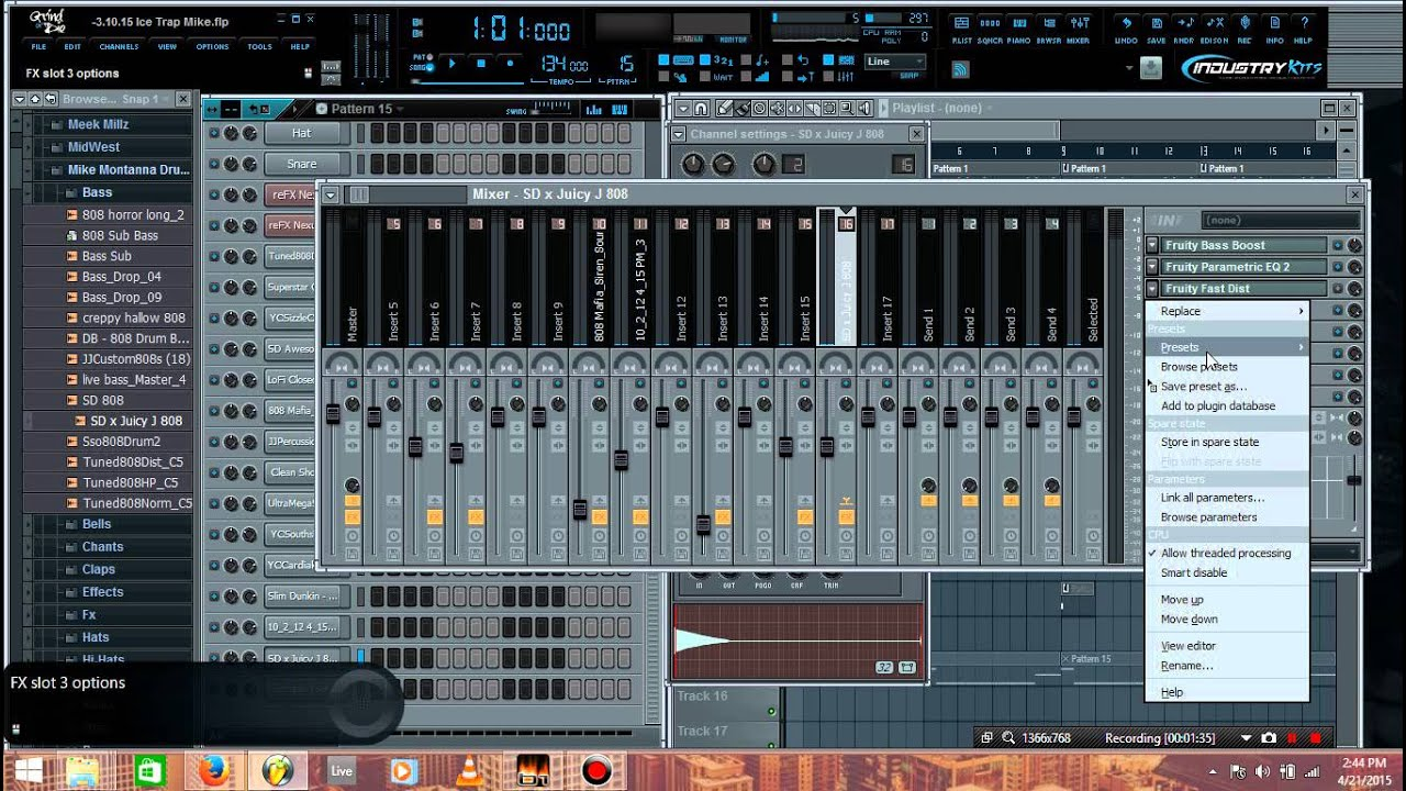 808 bass fl studio download