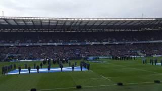 Flower Of Scotland - Scotland vs Ireland, Murrayfield, 4th Feb 2017