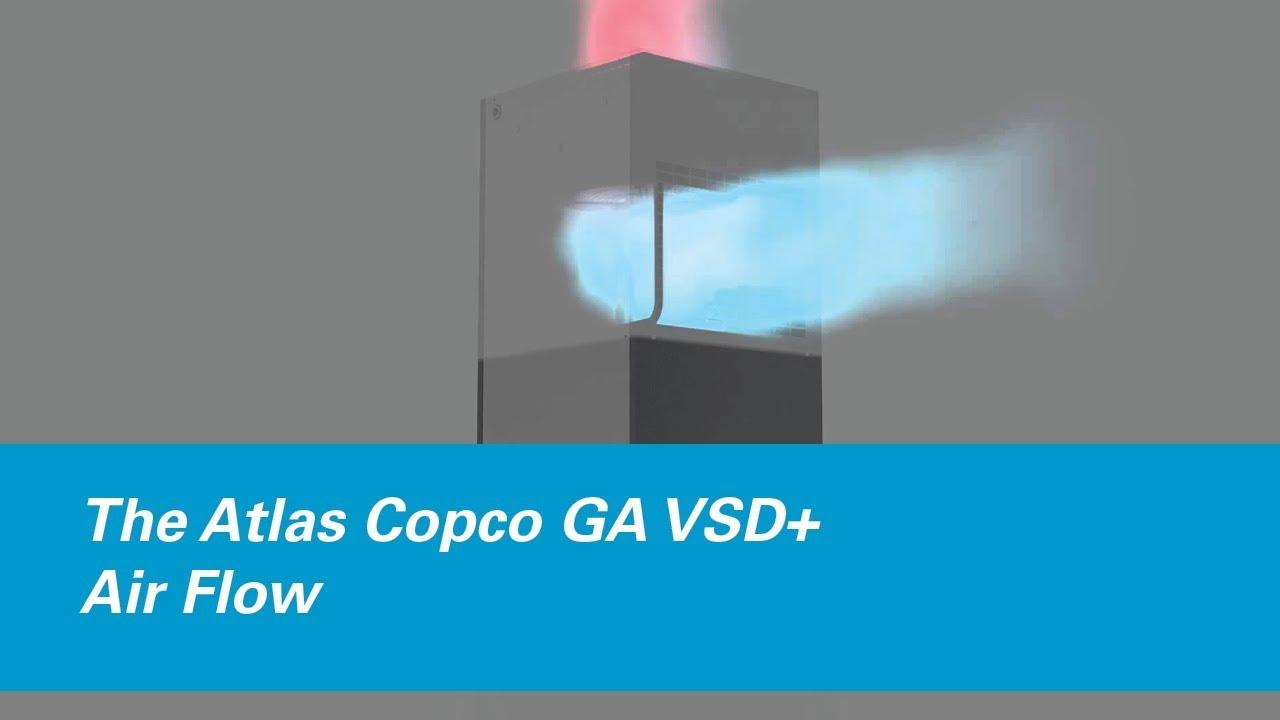 Atlas Copco Air Compressor Decal Kit