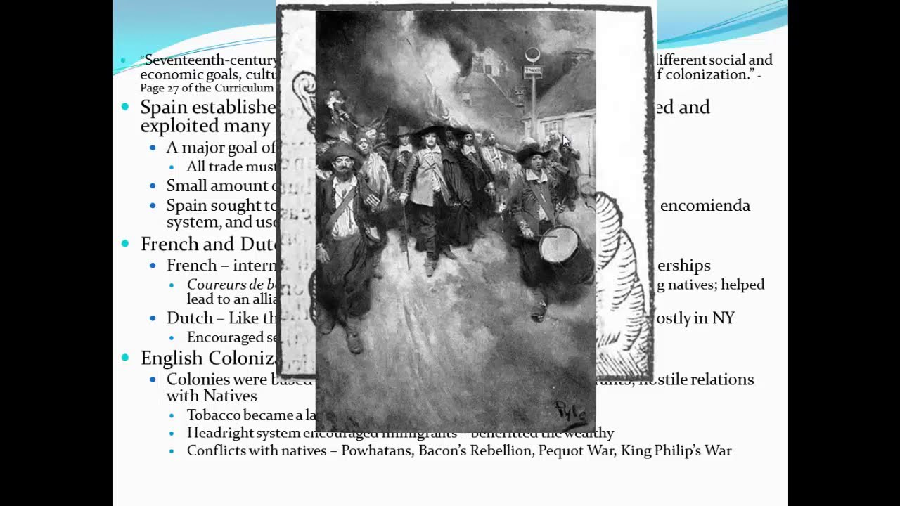 Henryetta Public Schools - APUSH Period 2 1607-1754