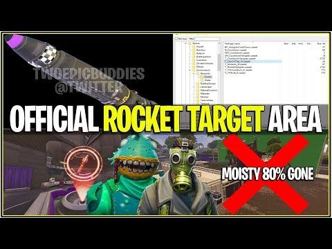 *NEW* Fortnite: LEAKED MOISTY MIRE BEING DESTROYED! *Rocket Target Area* | (LEVIATHAN MONSTER LTM)