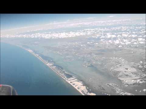 Laguna Madre, Costa de Tamaulipas, desde las Alturas
