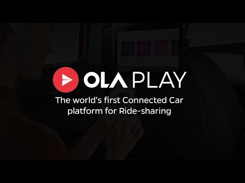 Thumbnail: Ola Play - World's first Connected Car platform for ride-sharing | Quick View