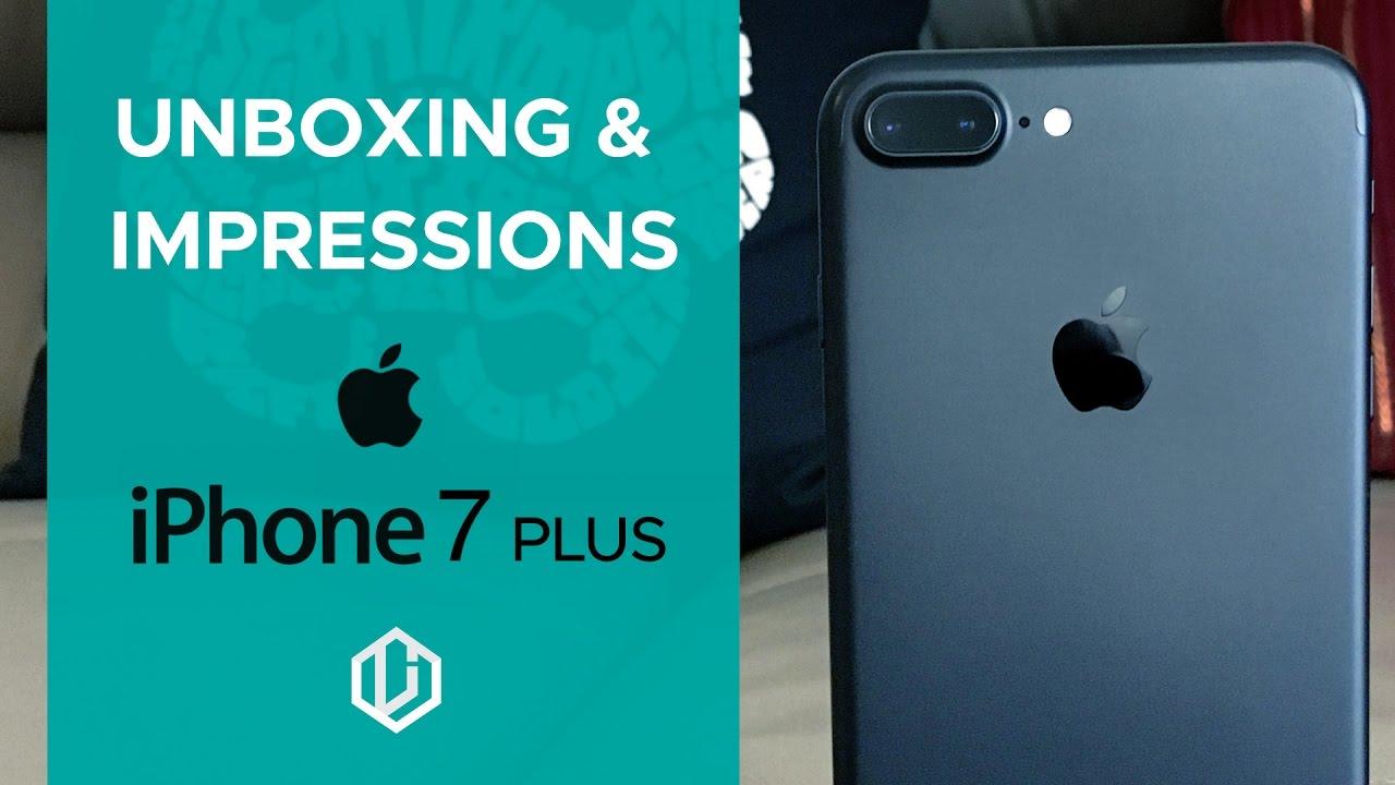 iPhone 7 Plus Unboxing and Impressions Dubai