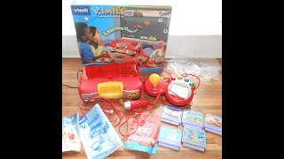VTech VSmile Disney Cars TV Learning System Plus 5 Games And Mains Adapter VGC