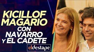 Kicillof Magario con Navarro y El Cadete | El Destape con Roberto Navarro en vivo