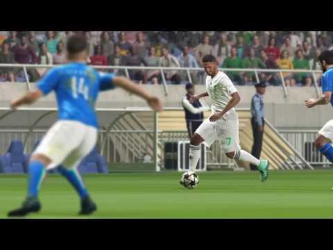كأس العالم الجزائر ضد إيطاليا ITALY VS ALGERIA group stage 2nd match PS4 PES2016