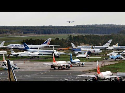 Что происходит в аэропорту Домодедово во время эпидемии коронавируса / весна 2020