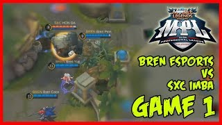 Troll TP by Bren Esports Against SXC Imba | MPL-PH Game1