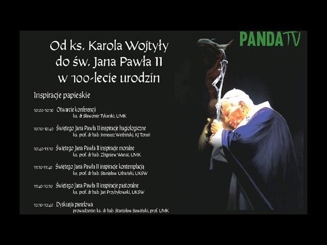 Od ks. Karola Wojtyły do św. Jana Pawła II w 100-lecie urodzin - Inspiracje papieskie