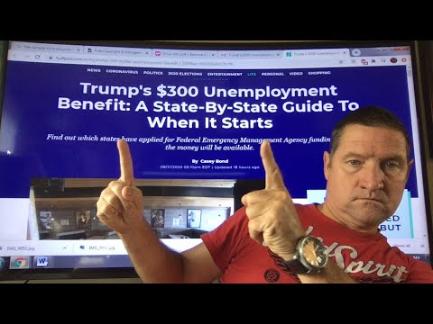 $300 Unemployment Benefit. A State by State guide to when it starts and who gets it. Link below