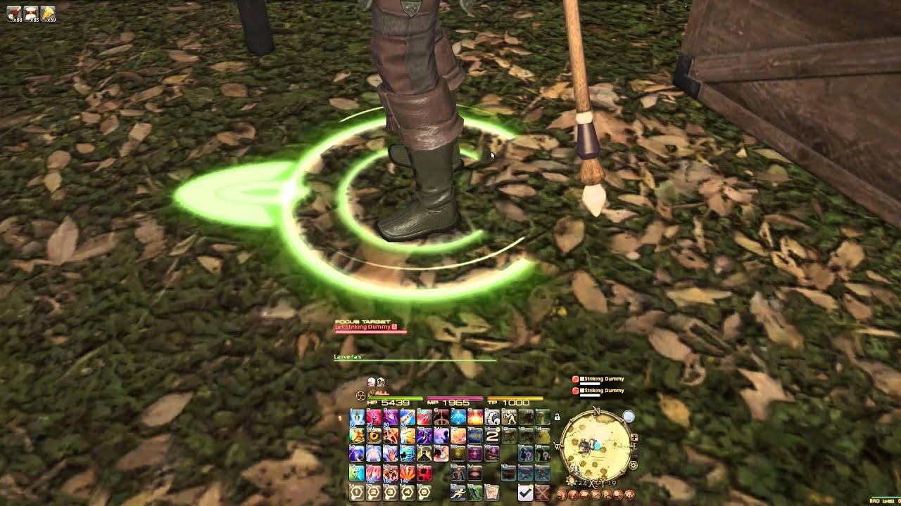 Final Fantasy XIV a Realm Reborn - Target Settings