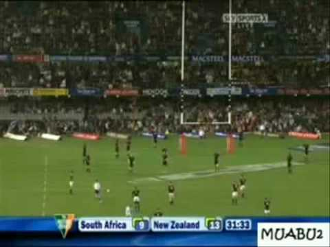 South Africa Vs New Zealand - Tri Nations 01.08.09
