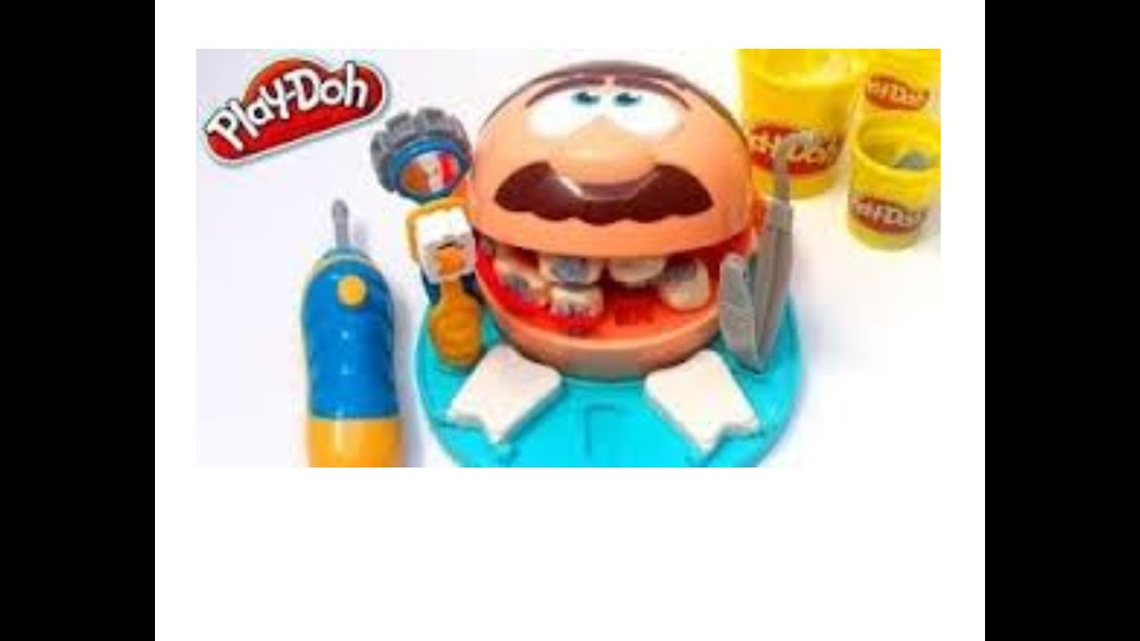 play doh doctor drill n fill dentist unboxing playset. Black Bedroom Furniture Sets. Home Design Ideas
