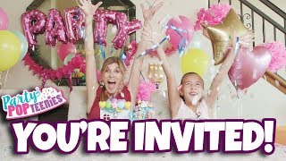 PARTY POPTEENIES SURPRISE PARTY POPPING FUN!!!