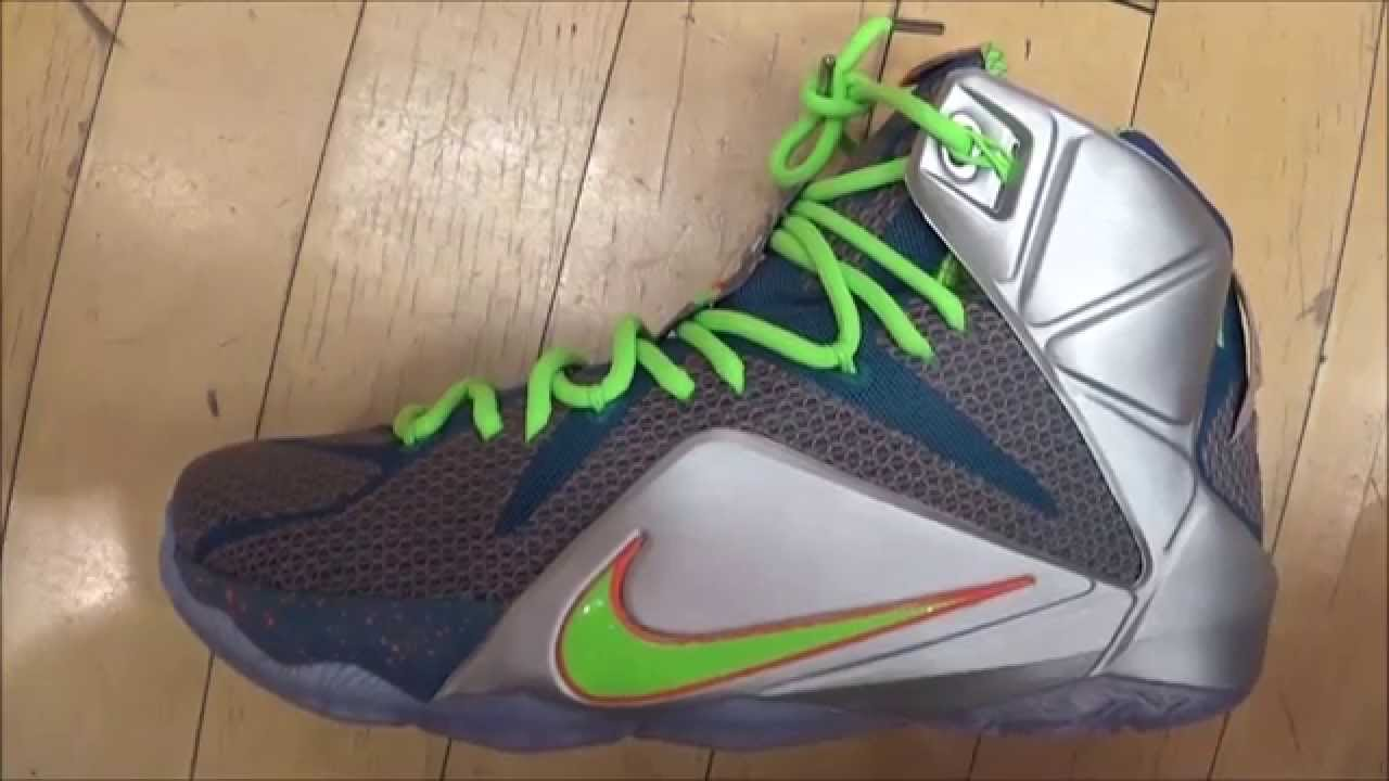 d2847c2a5529 Nike Lebron 12 Trillion Dollar Man Sneaker Review With  DjDelz  HotOrNot