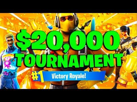 WE DID SO GOOD! $20,000 Friday Fortnite Tourney w/ Upshall!  #ConsoleGang (Fortnite Battle Royale)